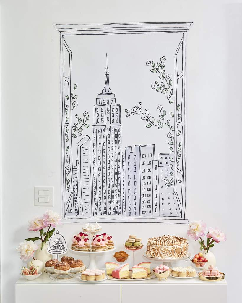 wall decal New York City View