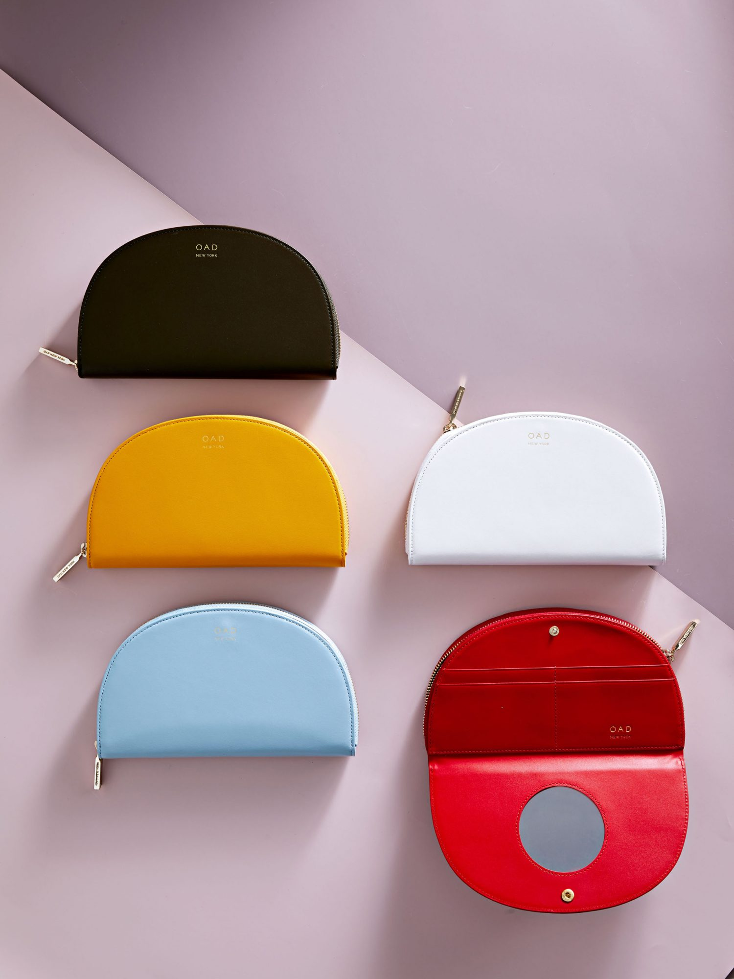 OAD Continental Mirror Wallets assorted colors