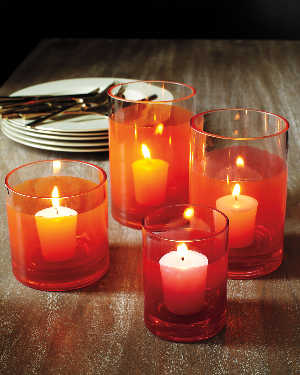 Glass Votive Candles