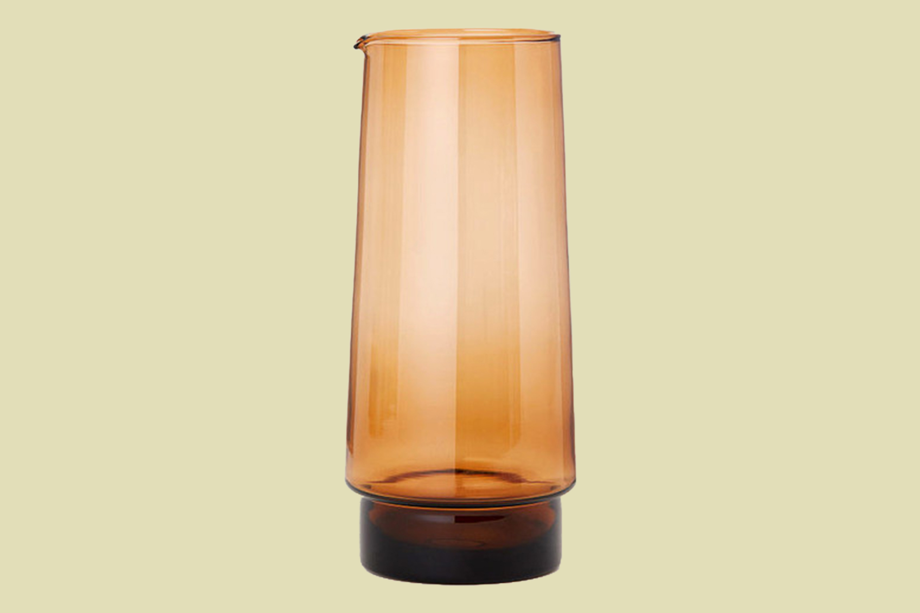 H&M Home Glass Carafe in Brown