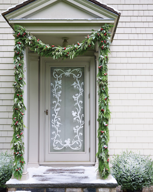 Holiday Door Cling Crafts
