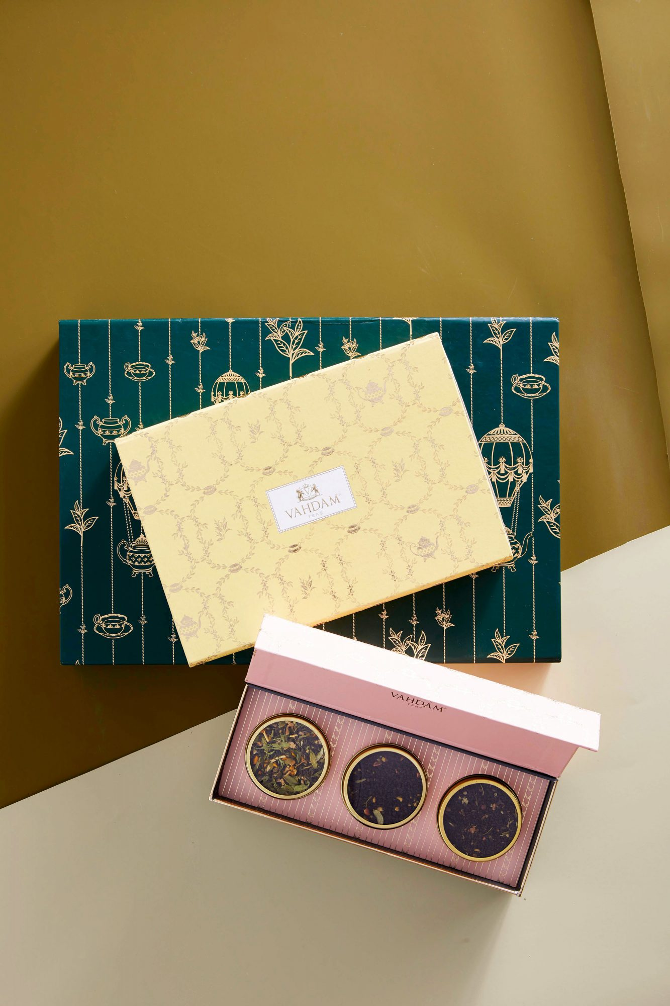 Vahdam Tea Gift Boxes