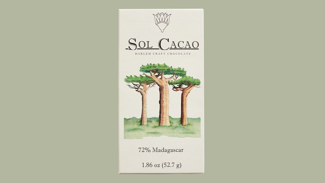 sol cacao madagascar chocolate bar