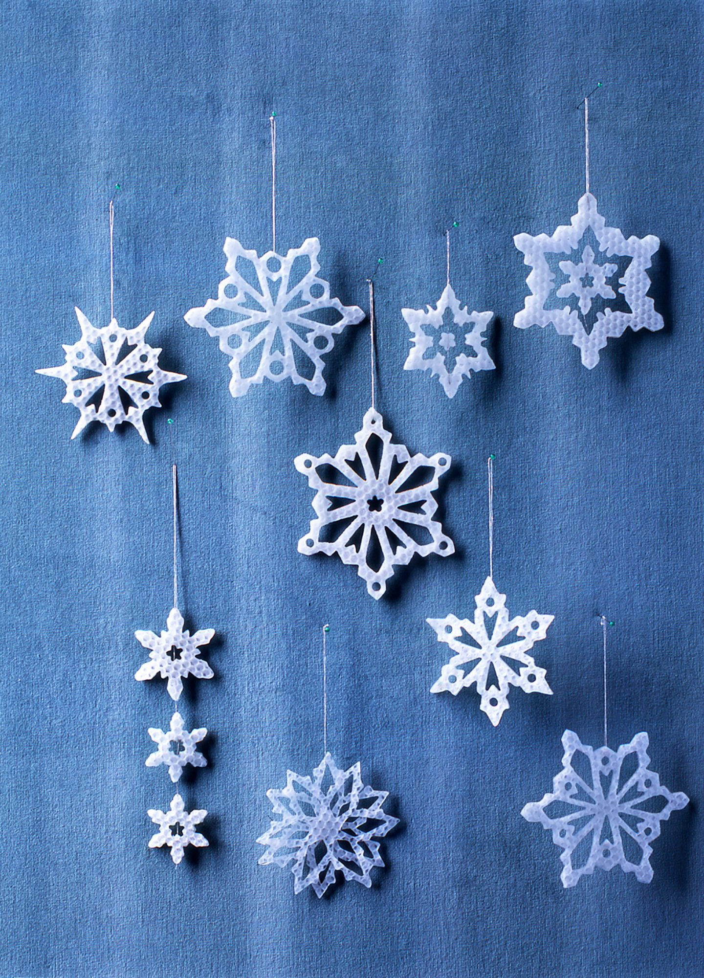 Wax Snowflake Ornament