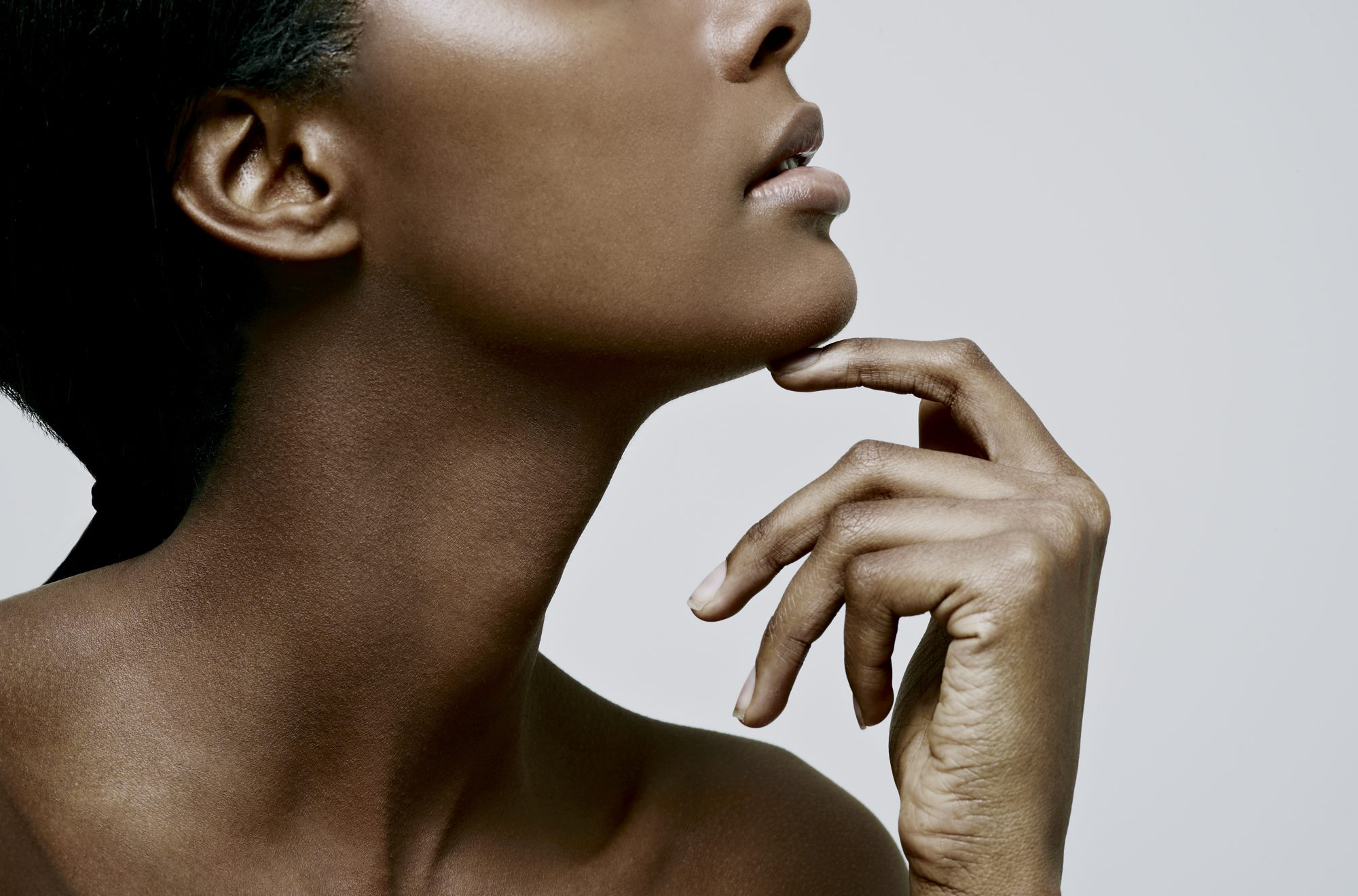 woman with radiant skin