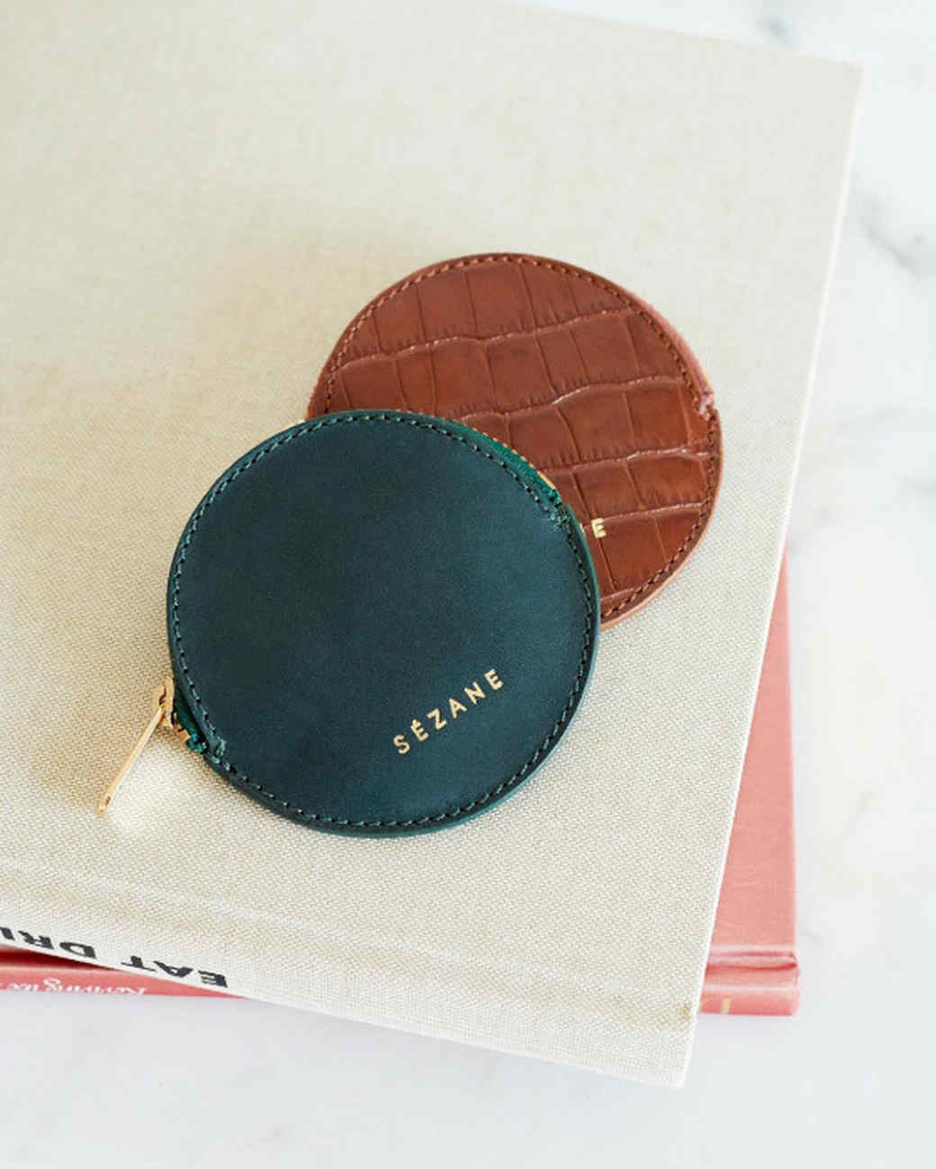 suede and leather Sézane wallets