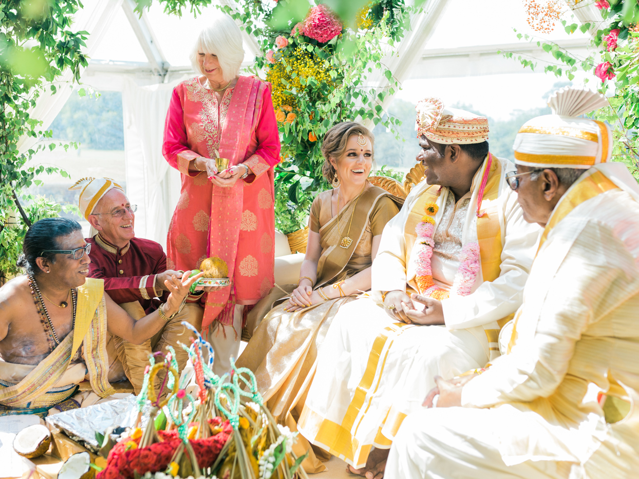 wedding ceremony family tradition giving bride away