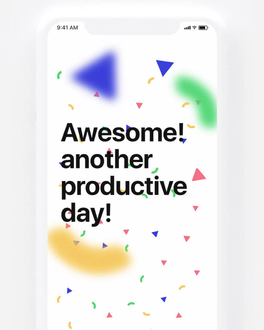 another productive day phone screen