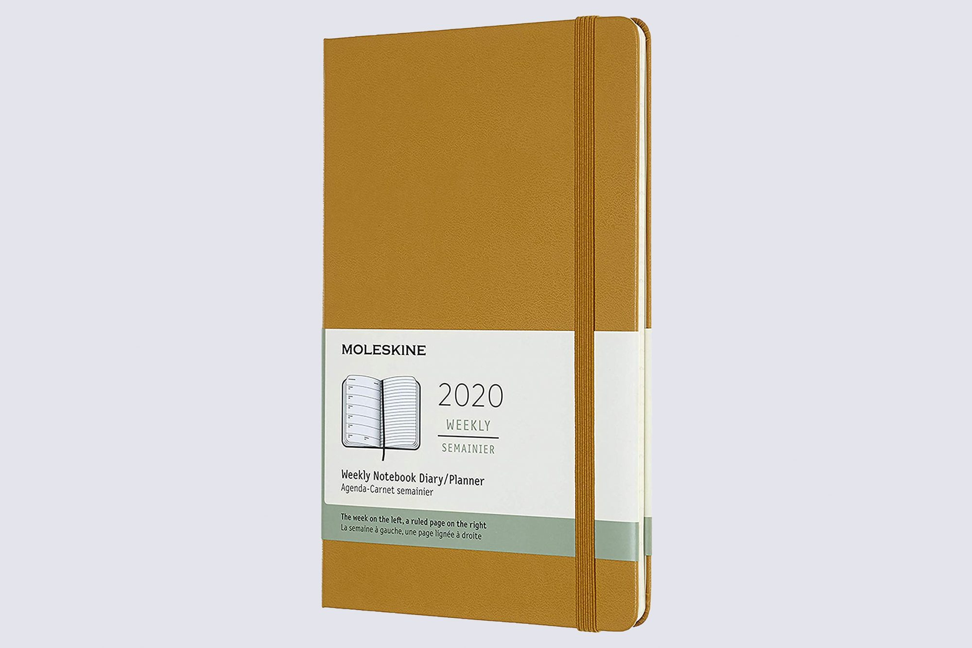 Moleskine 12 Month Large Weekly Planner in Ripe Yellow