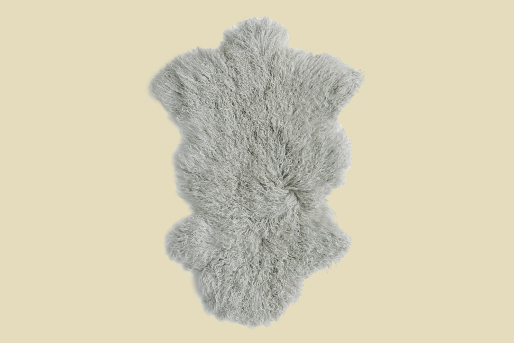 World Market Mongolian Sheepskin Area Rug