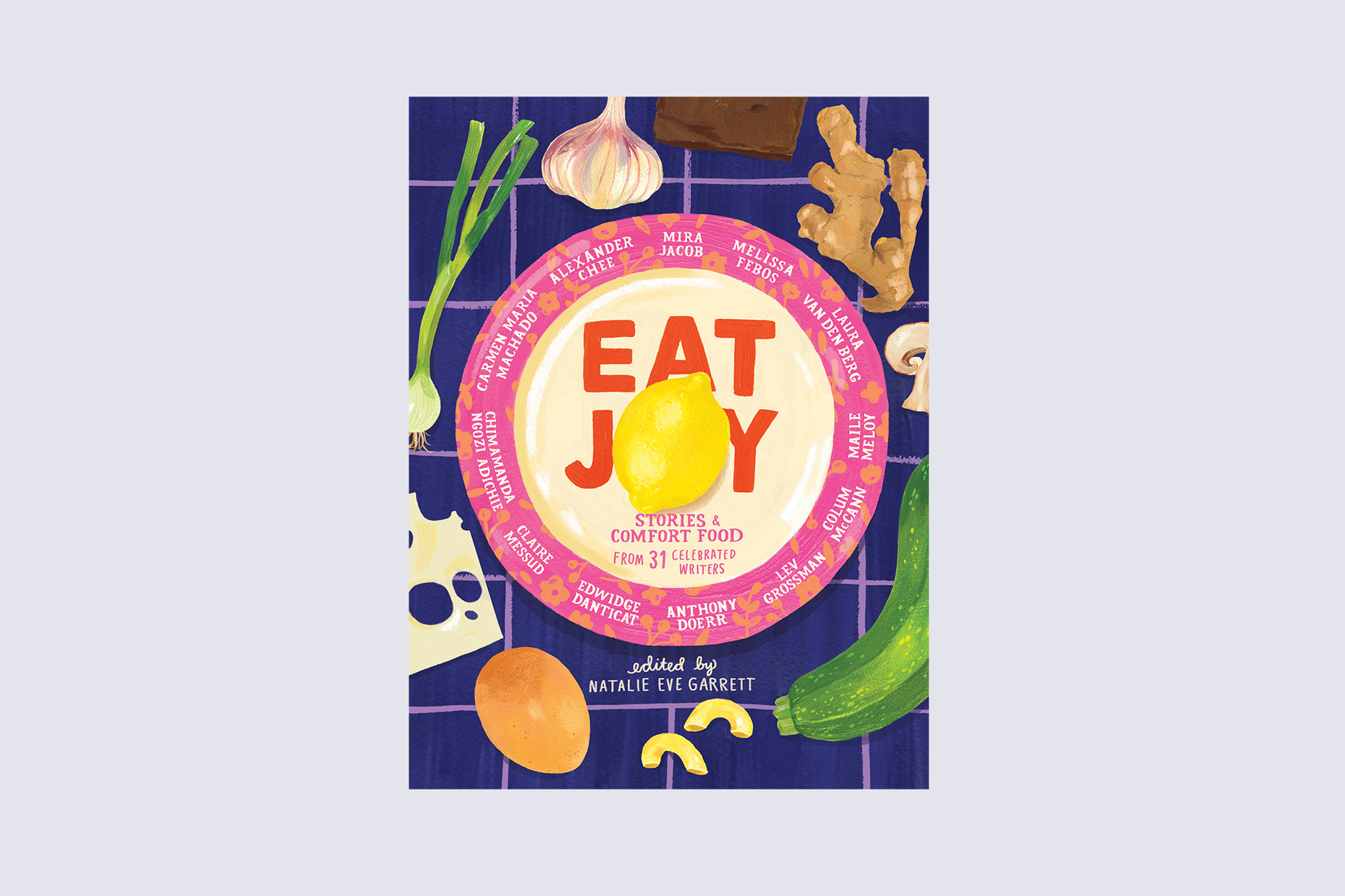 eat joy stories and comfort food cookbook