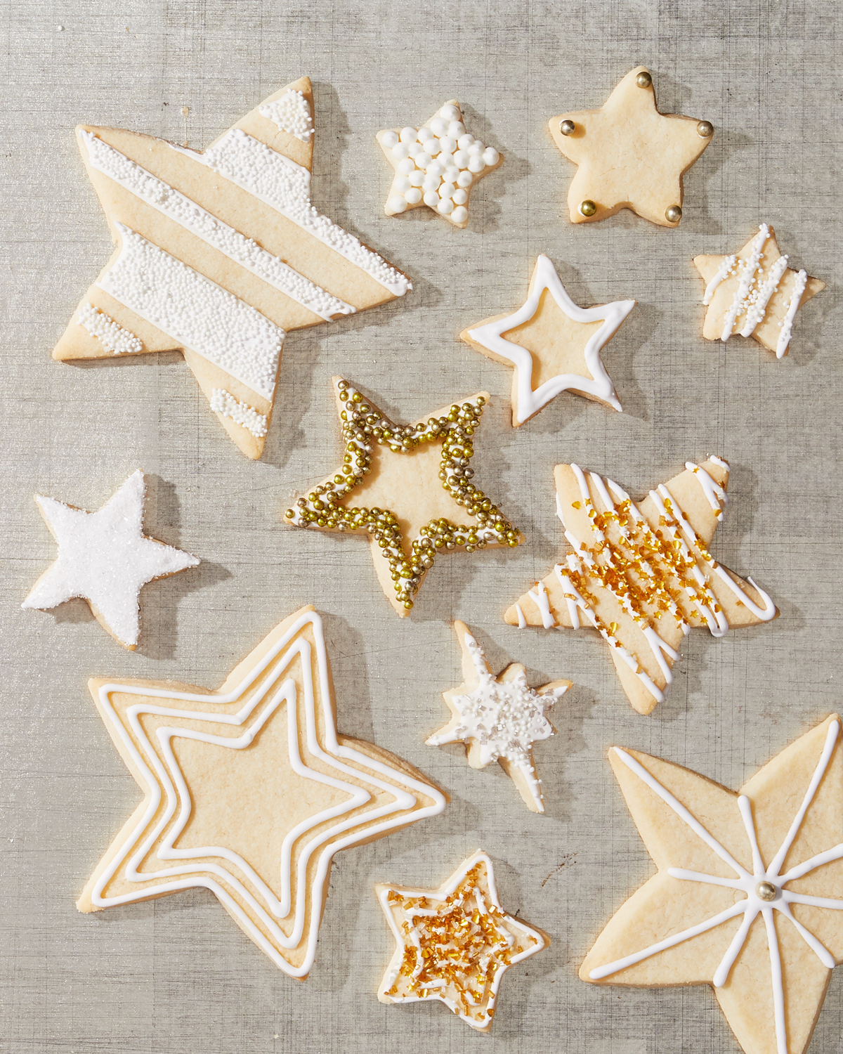 Gluten Free Sugar Cookie Stars