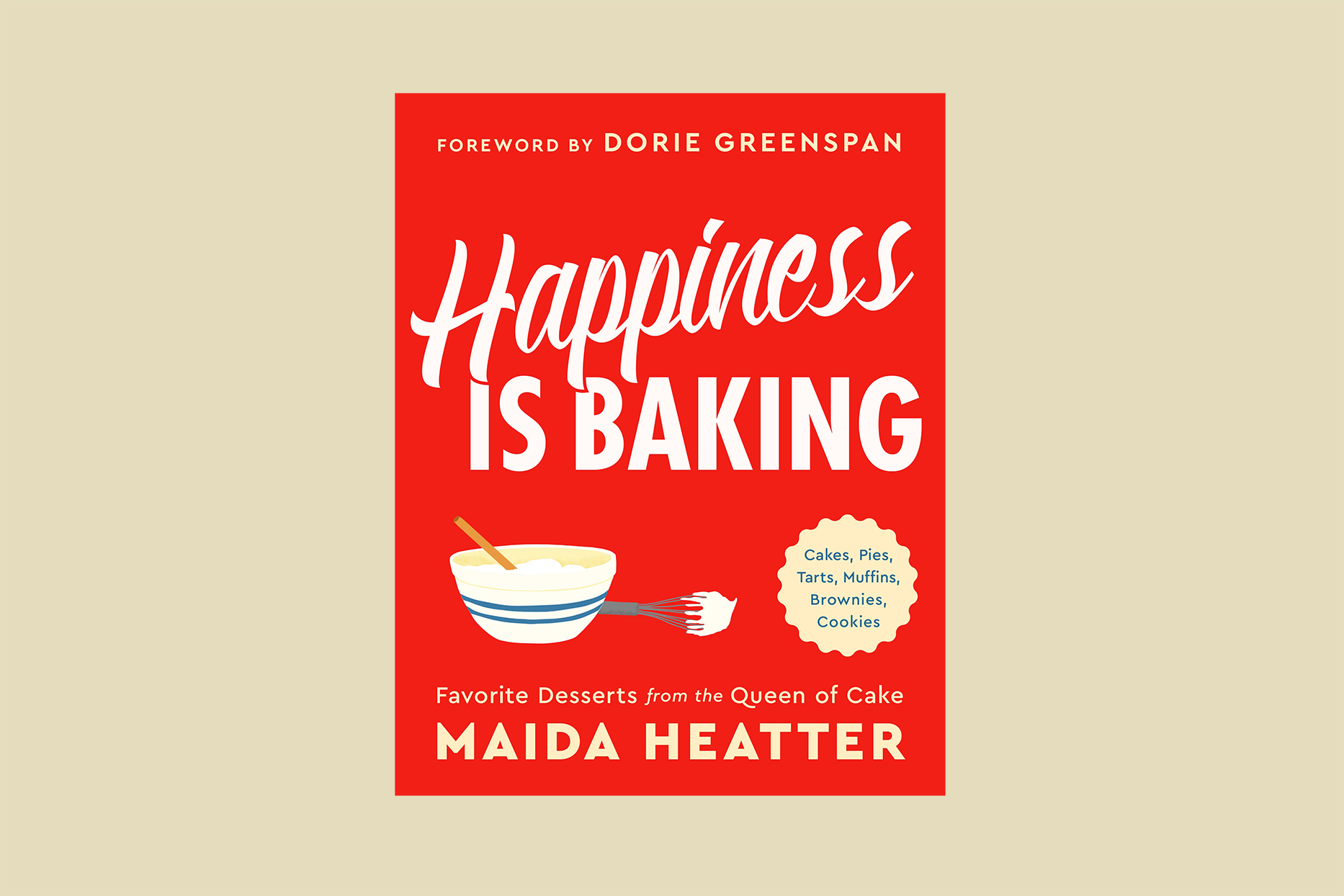 happiness is baking cookbook