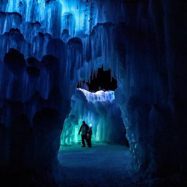 Ice Castles cave