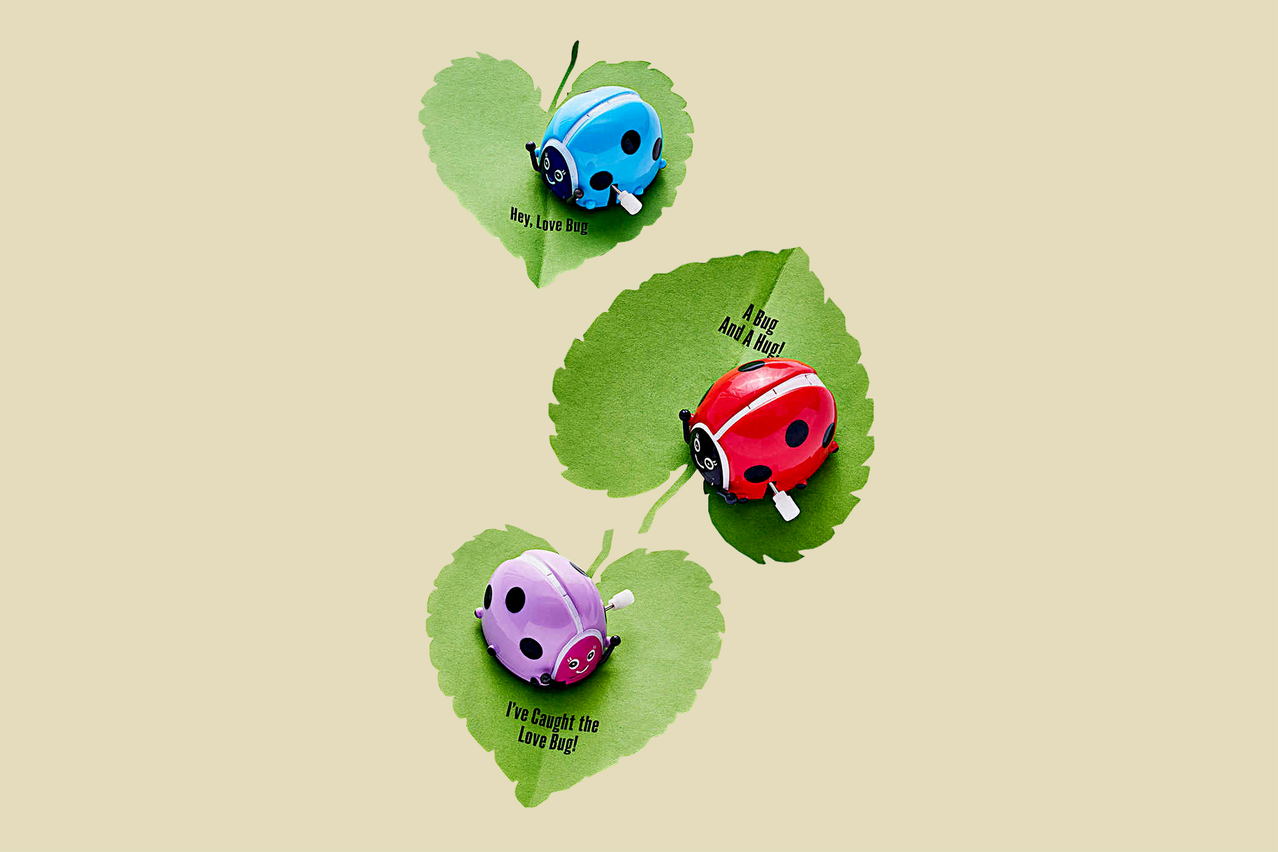 diy love bug valentines