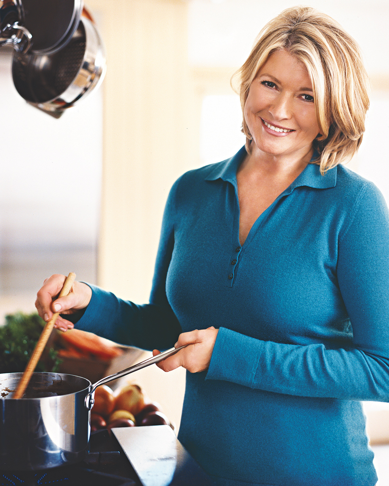 Martha Stewart stirring pot