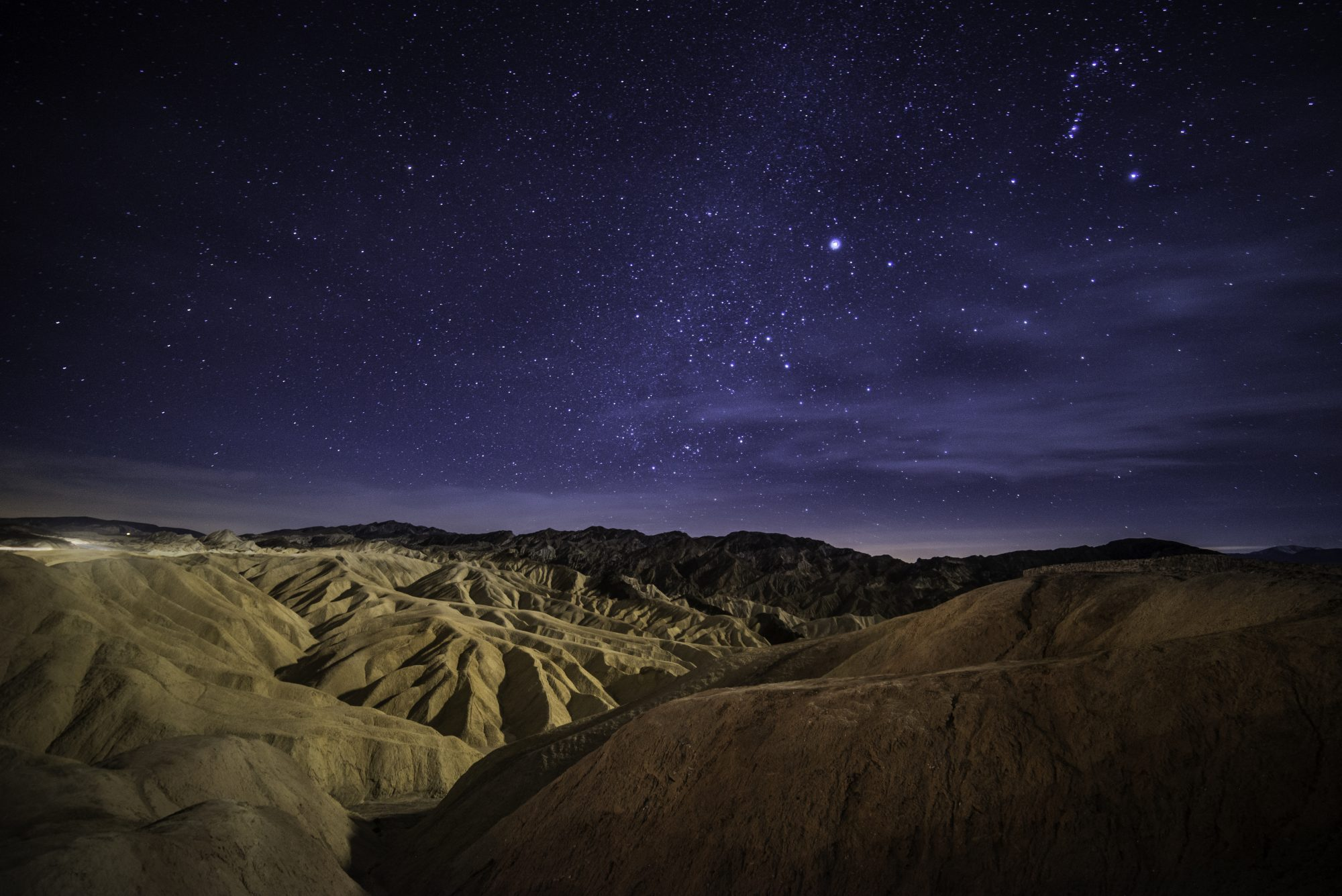 stargazing view at death valley national park