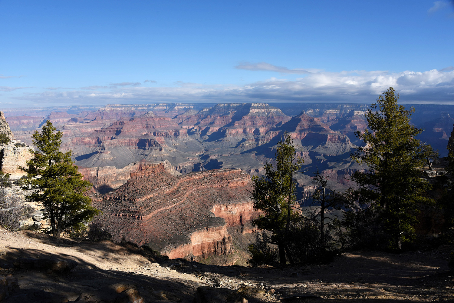 South Rim of Grand Canyon National Park, located in northwestern Arizona, is the 15th site in the United States to have been named a national park