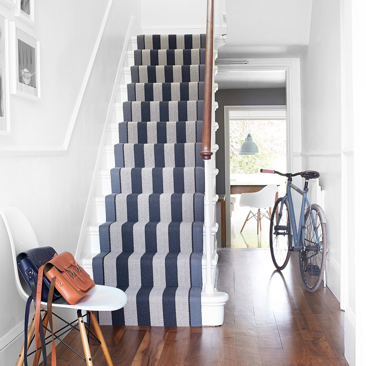 Here S How To Upgrade Your Staircase With A Stair Runner Martha