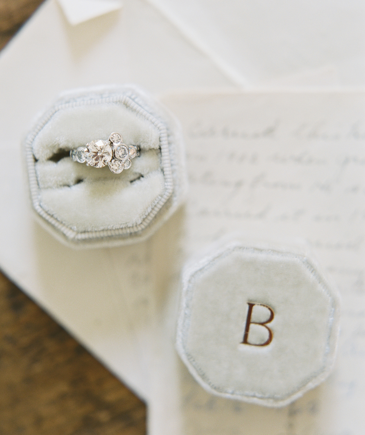 custom vintage-inspired engagement ring