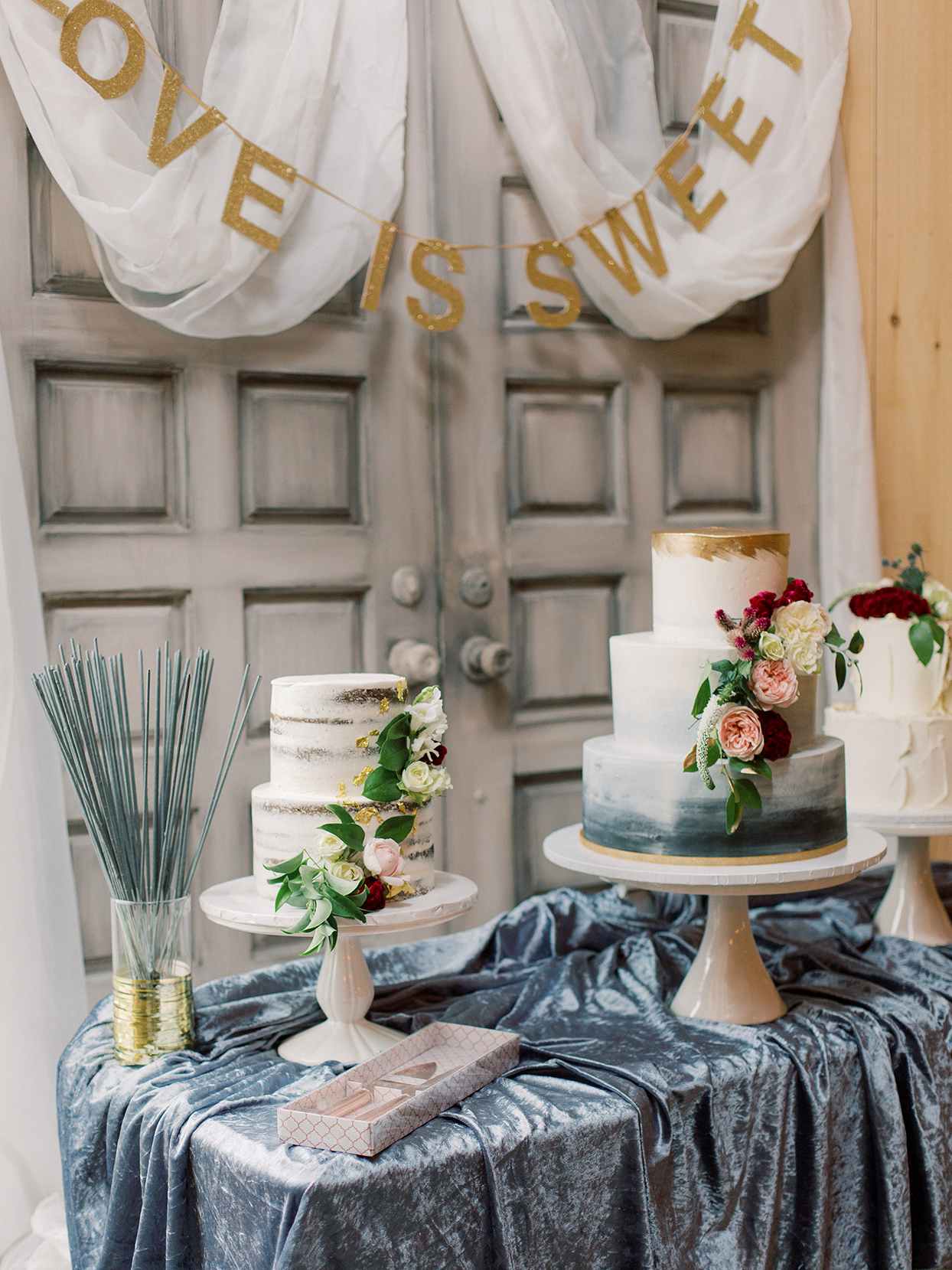 rebecca isaac wedding cakes with flowers