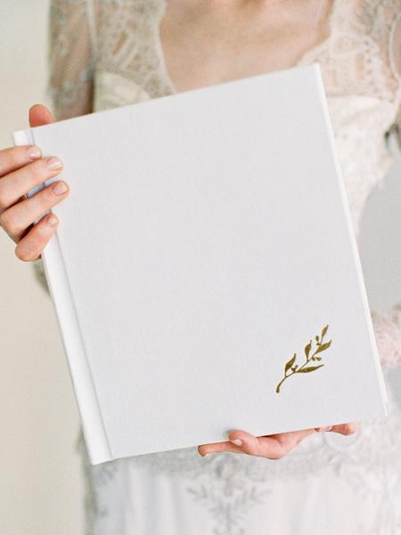 Linen Wedding Anniversary Gifts, Heirloom Bindery Wedding Album
