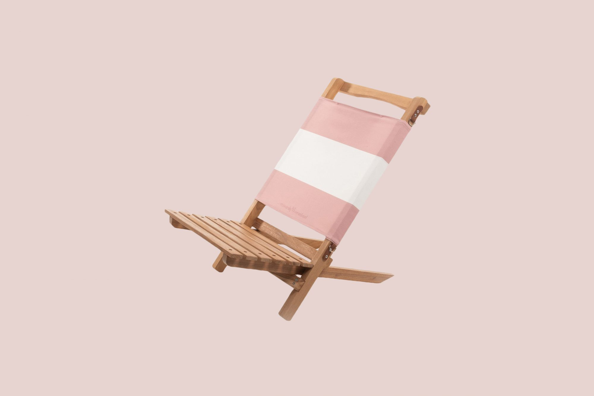 The 2-Piece Chair in Pink Stripe