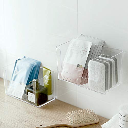 self-adhesive shower caddies
