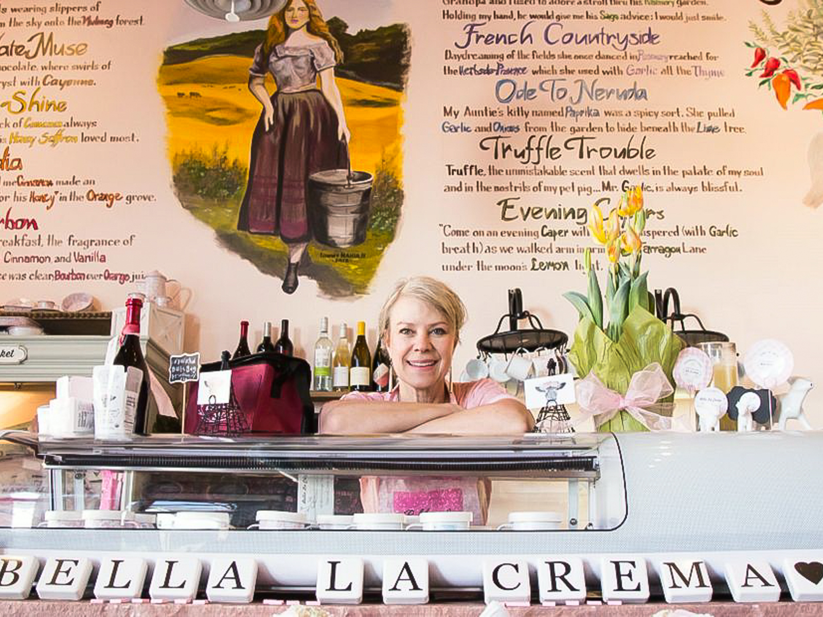 Shauna Lee Strecker, owner of Bella La Crema