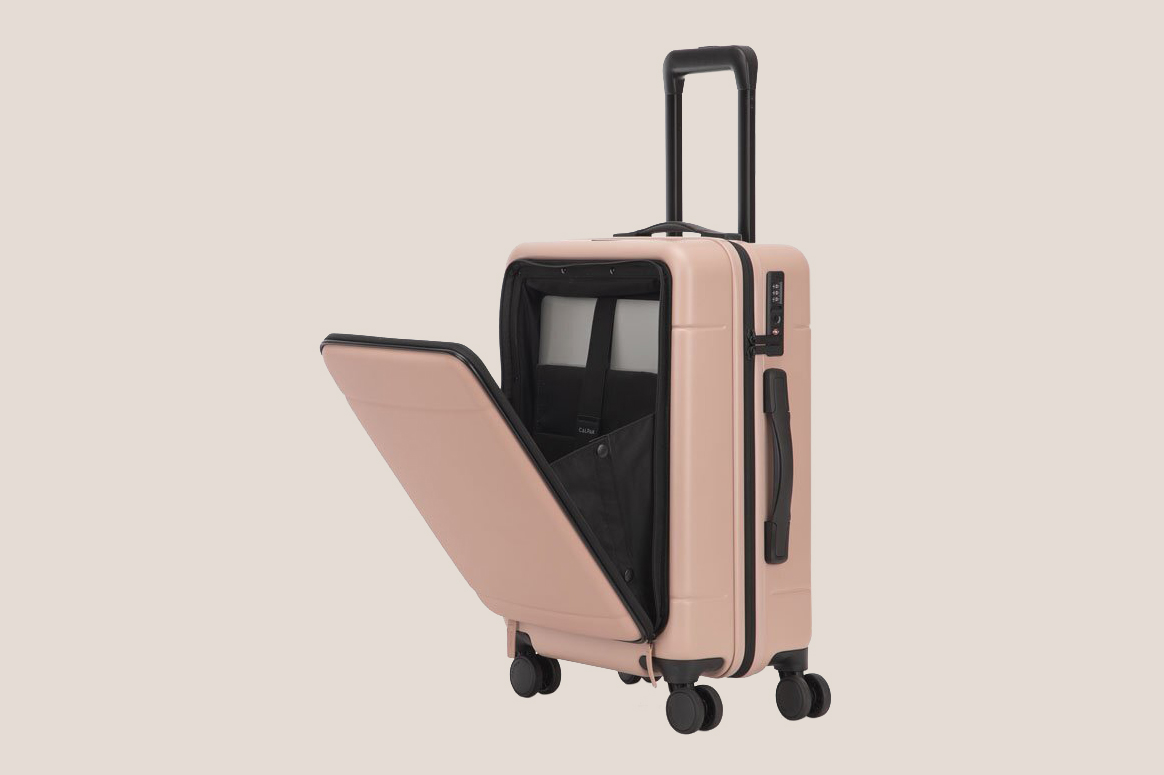 Calpak Hue Carry-On Luggage with Pocket at Calpak