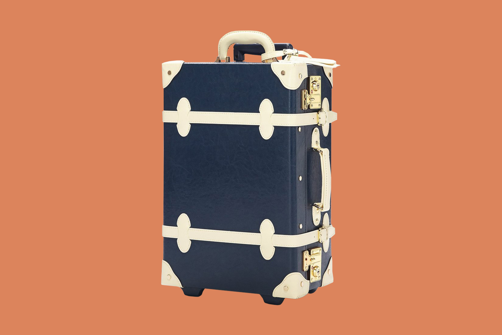 Steamline Luggage The Entrepreneur Navy Carry On