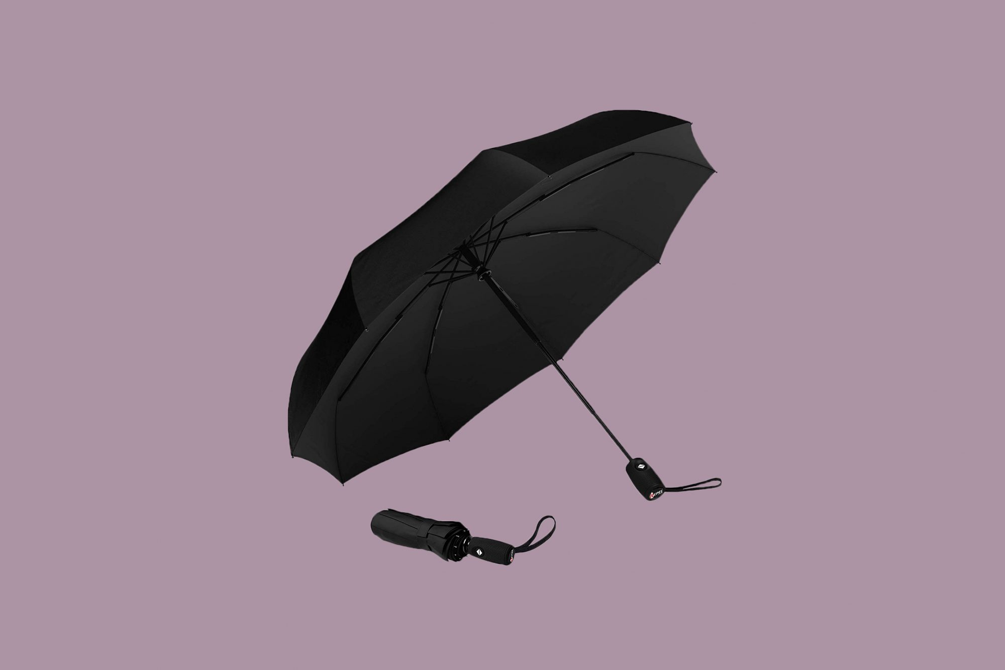 Repel Umbrella Windproof Travel Umbrella with Teflon Coating