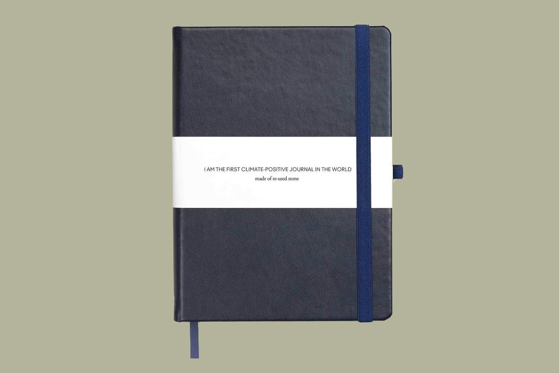dotted notebook agood climate positive bullet journal