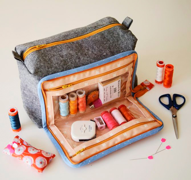 Aneela Hoey All-in-One Box Pouch