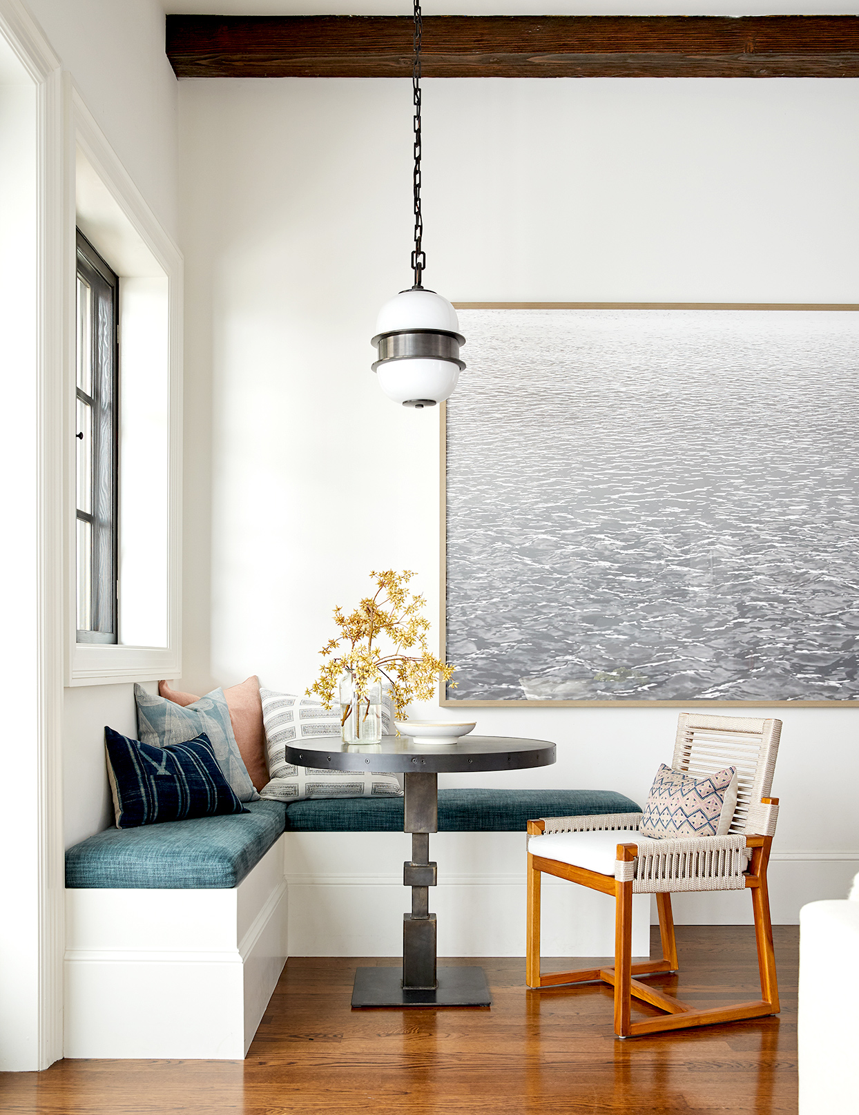 Nook with bench and chair seating