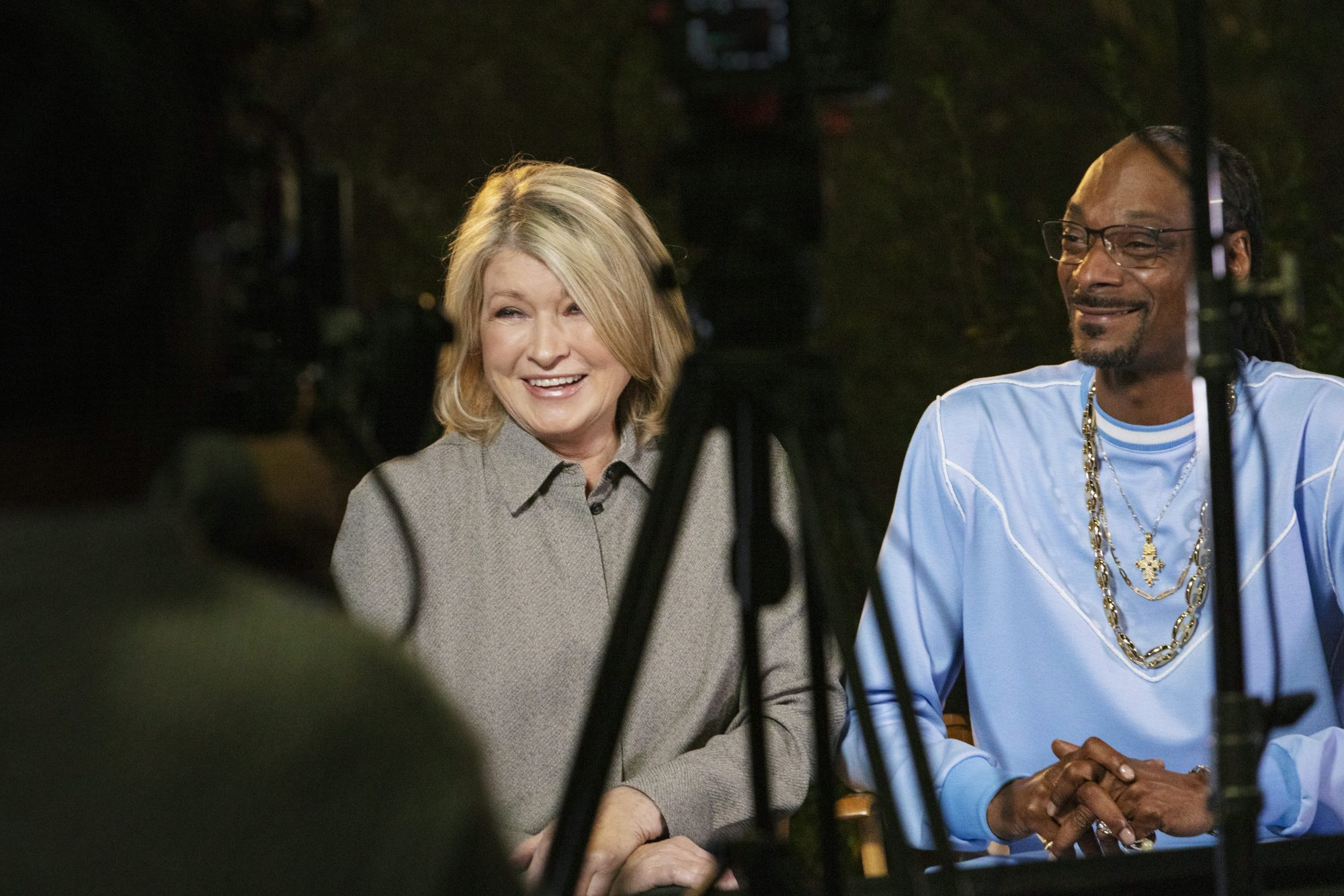 Martha and Snoop Commercial