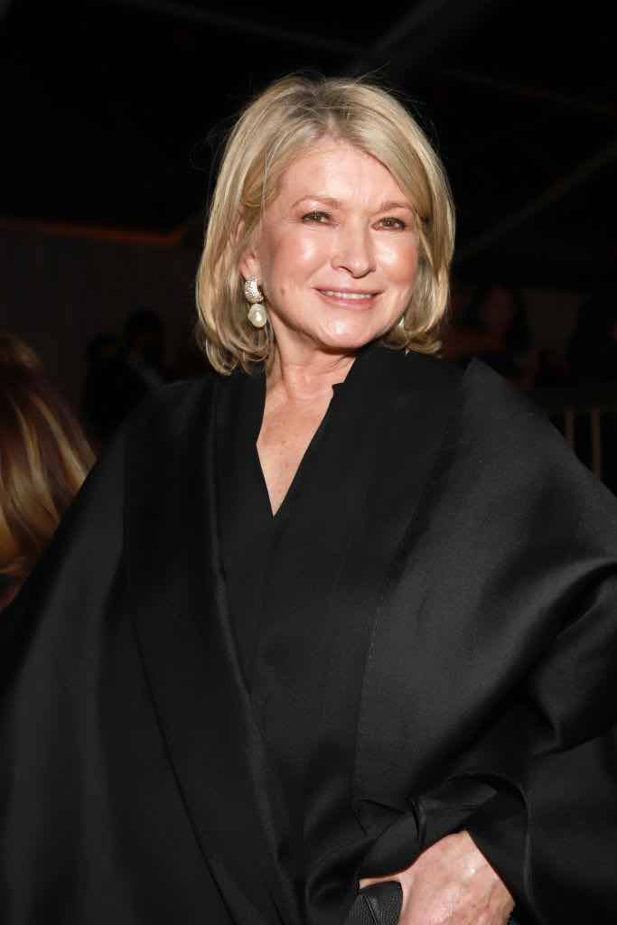 Martha Stewart at the 77th Golden Globes Awards