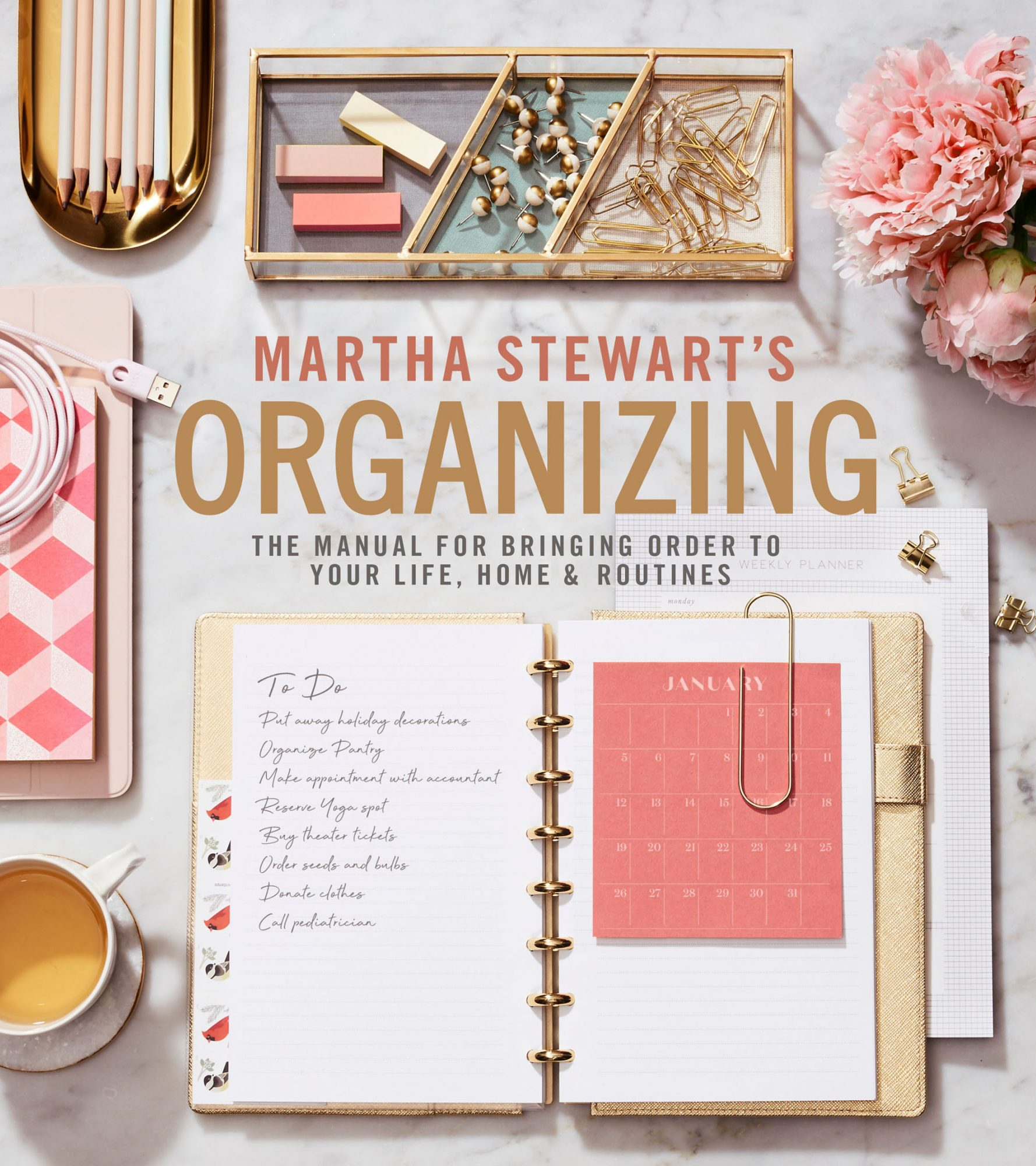 Martha's Advice for Organizing These 10 Spaces in Your Home