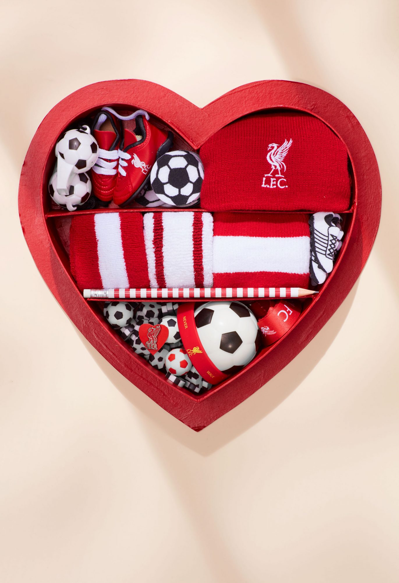Image result for soccer heart box gift martha stewart