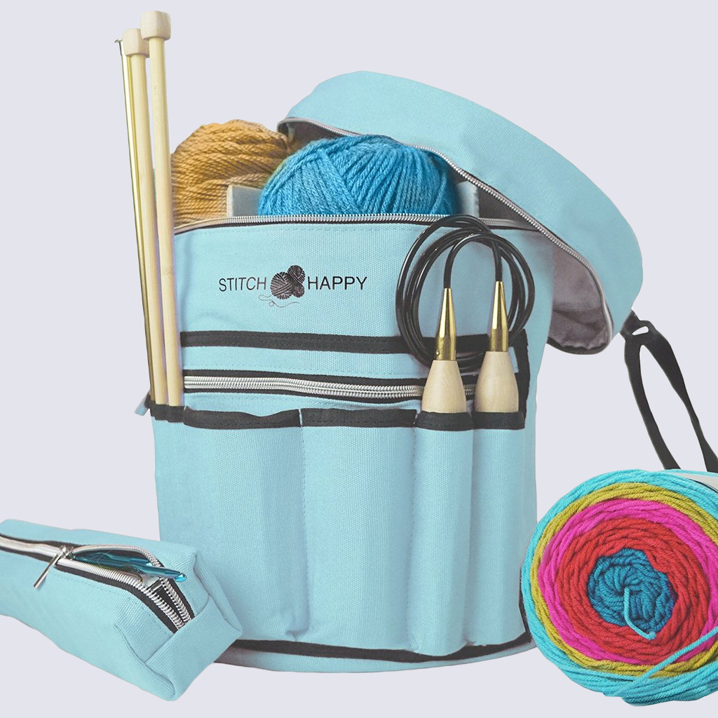 Stitch Happy Knitting Bag