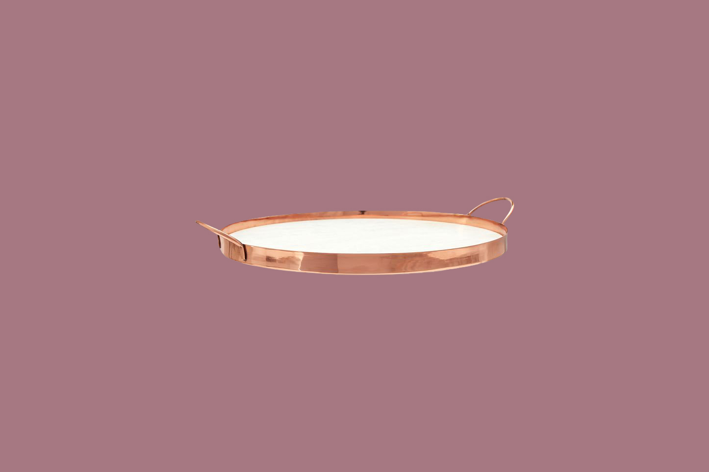 Pottery Barn Marble and Copper Serve Tray