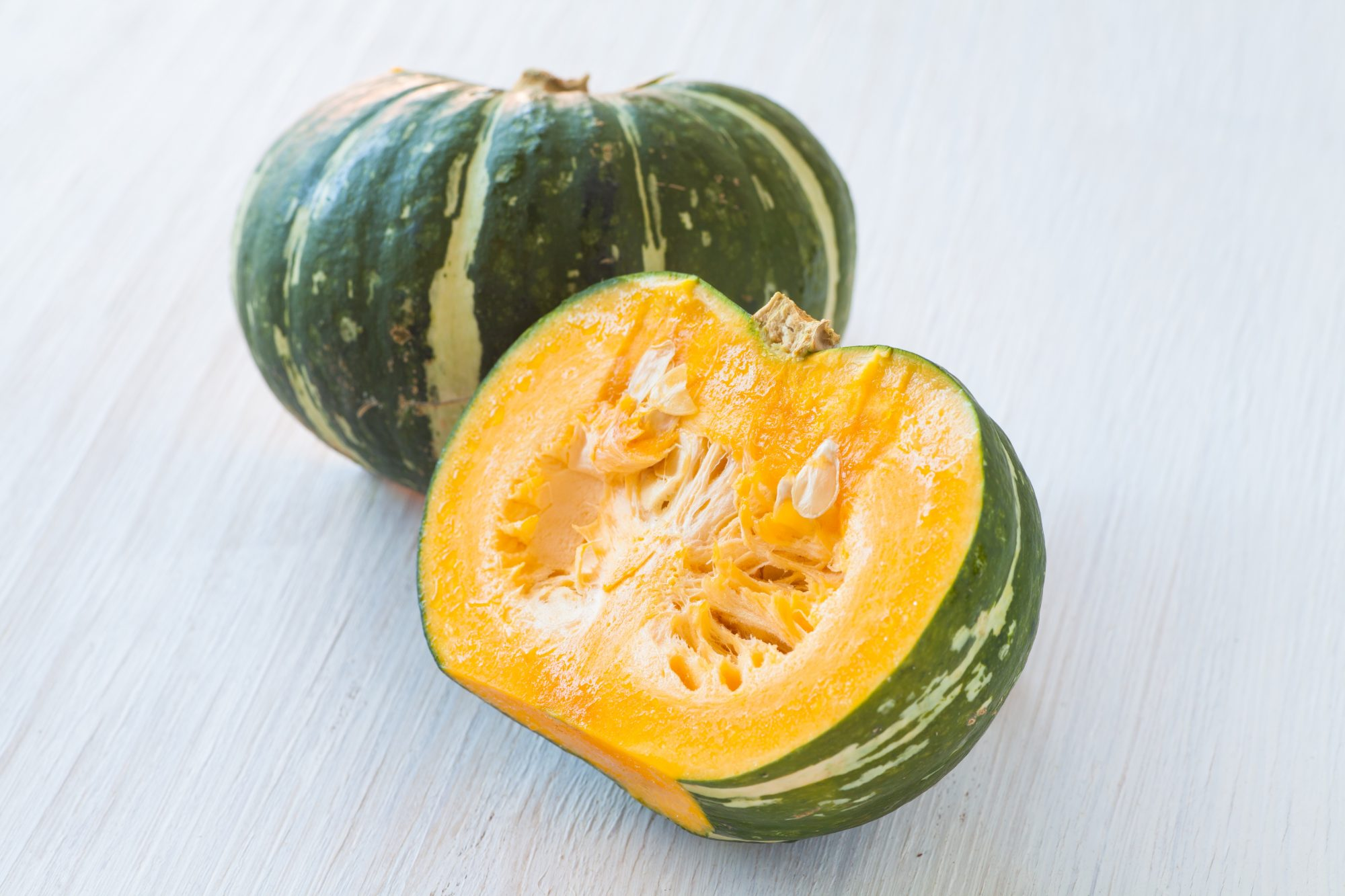 kabocha squash or japanese pumpkin