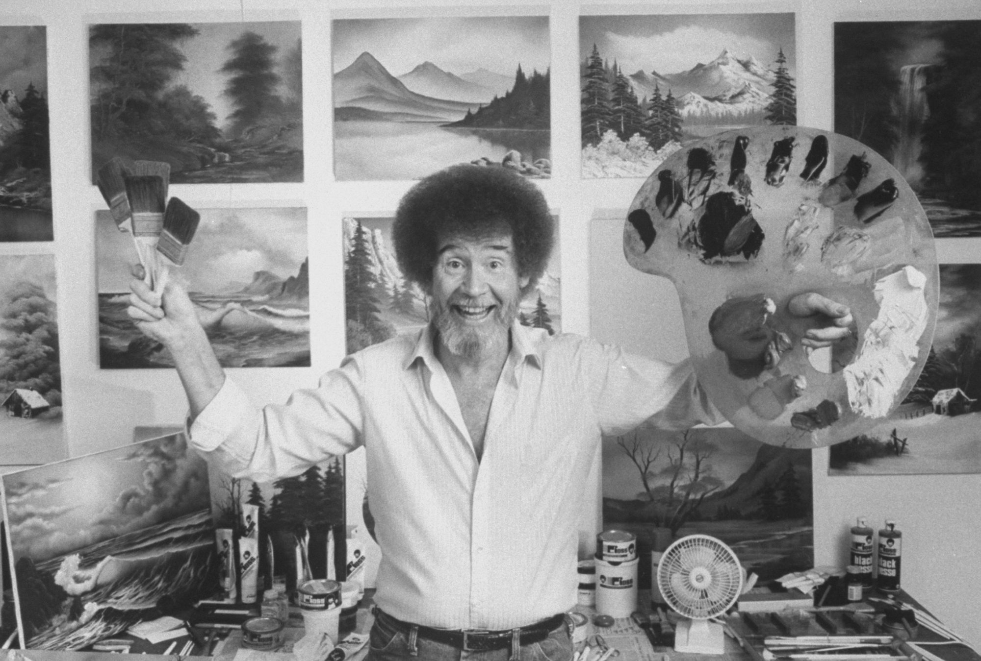 You Can Now Take a Painting Class Taught by Bob Ross' Son