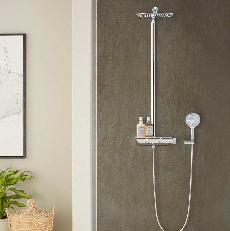 Thermostatic Shower Control