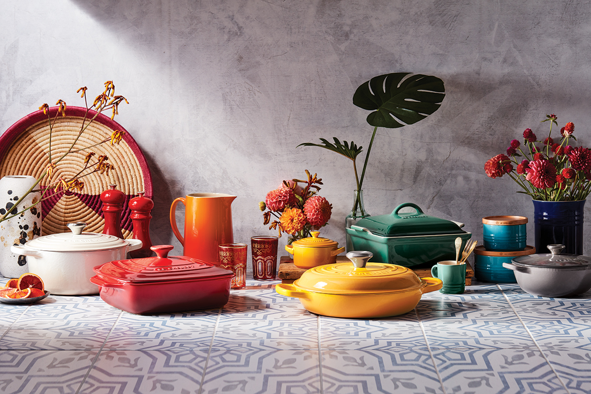 Le Creuset kitchenware