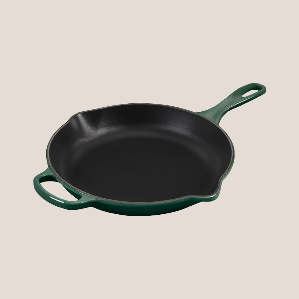 signature skillet in artichaut