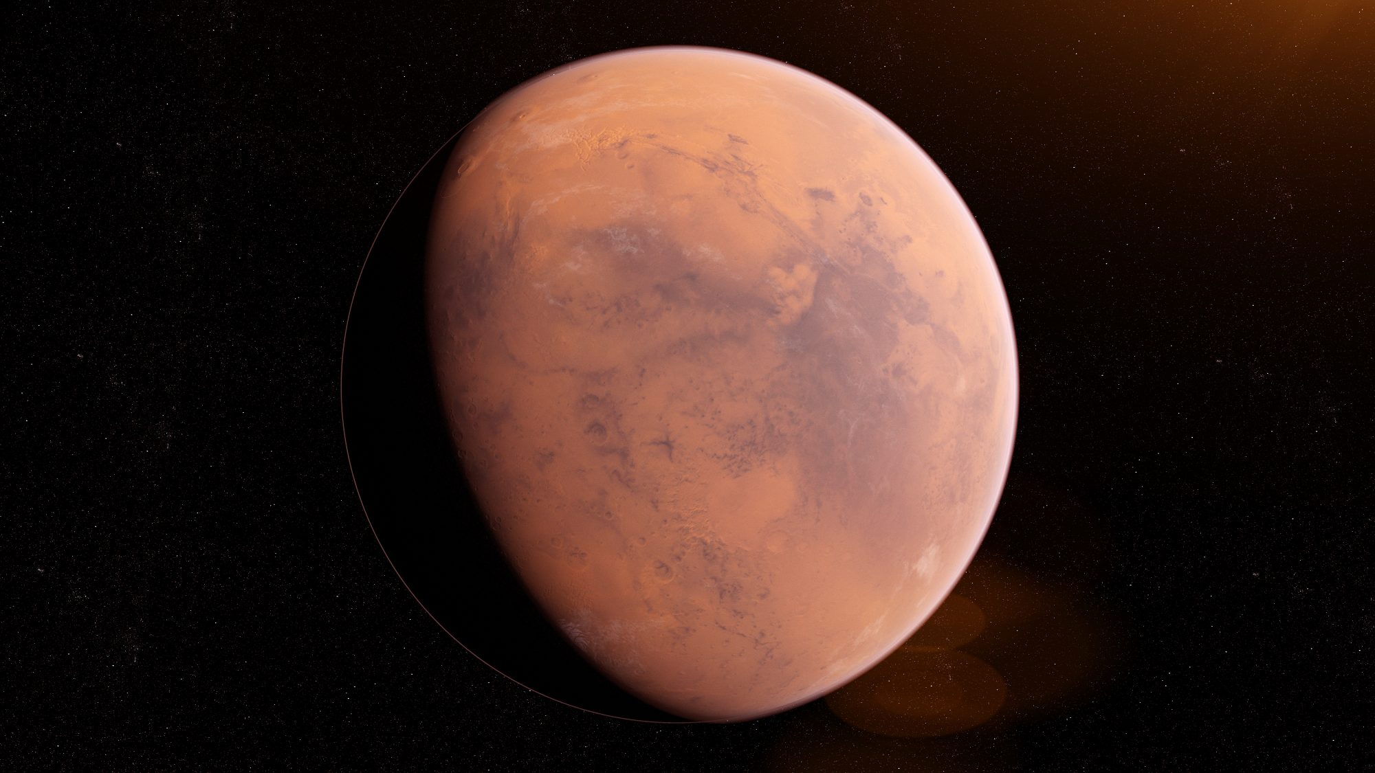 view of mars