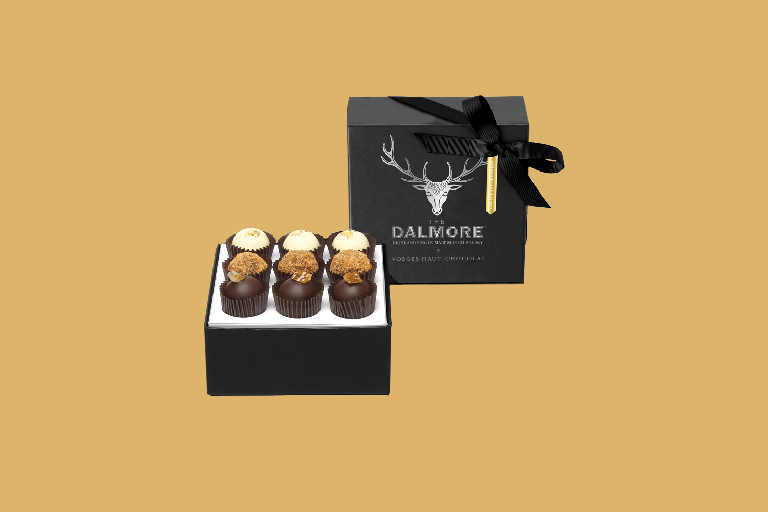 "Vosges ""The Dalmore"" Scotch-Infused Chocolate Collection"
