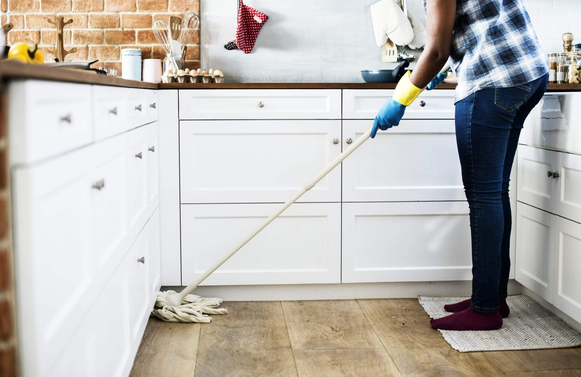 How to Mop: Step Four