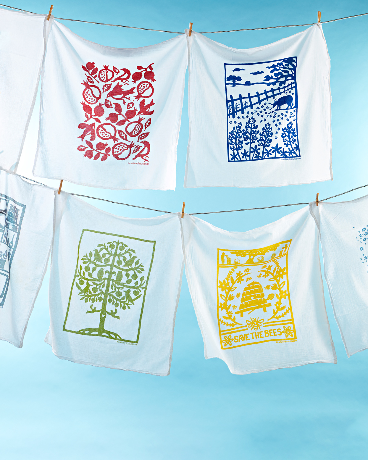 Kei & Molly Textiles towels
